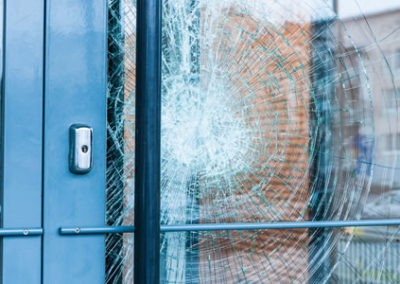 Forced Entry Resistant Glass